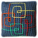 Cushion: Quadrille pattern