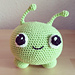 Mooncake Amigurumi from Final Space pattern