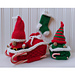 Christmas Baby Gnomes - Santa, Elf, Sleigh pattern