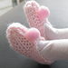 Wovenflame's Doll Slippers pattern