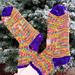V-Fib Sock Recipe pattern