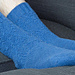 Ribbed Leaf Socks pattern