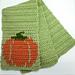 Fall Pumpkin Scarf pattern