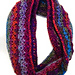 Psychedelic Infinity Scarf pattern