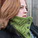 Buttoned Anniversary Cowl pattern