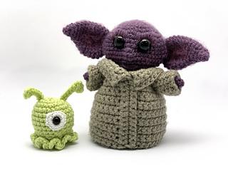 Crochet Baby Alien