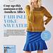 Fair Isle Yoke Sweater pattern