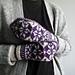 Prisos mittens pattern