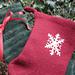 Scandinavian Felted Christmas Stocking pattern