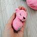 Sleeping mouse amigurumi pattern