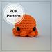 Baby Octopus Amigurumi pattern