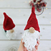 Nordic Christmas gnome pattern