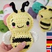 Betty the Bee pattern