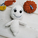 The scary ghost Buhu pattern