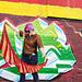 Urban Festival Shawl pattern