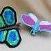 Flitter by Butterfly pattern