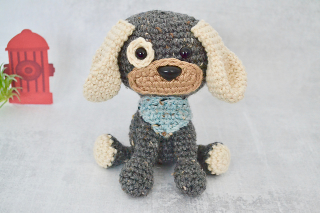 Cute Dog Crochet Pattern. Domino The Dog Amigurumi Crochet | Etsy ... | 427x640