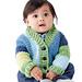 Shawl Collar Baby Cardigan pattern