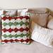 Rustic Wheels Christmas Pillow pattern