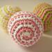 Spiral Hackysack pattern