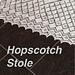 Hopscotch Stole pattern