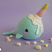 Ice Cream Narwhal pattern