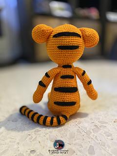 Tigger - Winnie the Pooh Amigurumi - Patrón Gratis en Español ... | 320x240