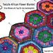 Twizzle African Flower Blanket pattern
