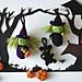 Halloween Collection (witch, cat, bat & pumpkin) pattern