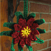 Christmas Cactus Flower Ornament pattern