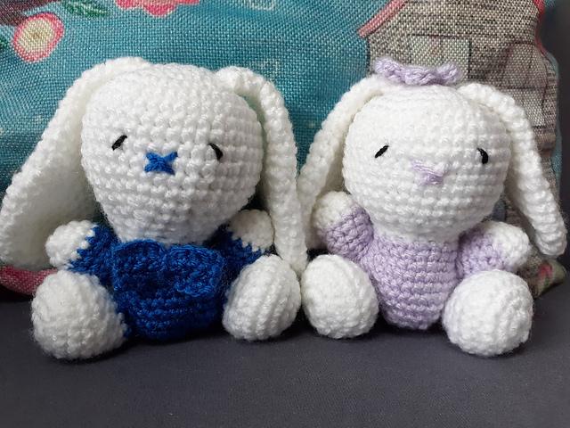Ugly Bunny crochet pattern - Woolpedia® | 480x640