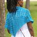 Diamond Days Shawl pattern