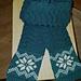 Snowflake Scarf pattern