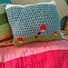 Jumpin' Mushroom Pillow pattern