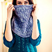 Blue Ruby Cowl pattern