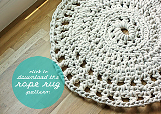Ravelry Rope Rug Pattern By Whollykao