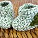 Leaf Booties pattern