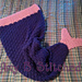 Mermaid Tail Cocoon pattern