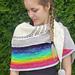 Under the rainbow shawl pattern