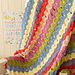 Vintage Fan Ripple Blanket pattern