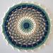 Lazy Shade of Winter Mandala pattern