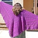 Fir Cone Square Shawl pattern