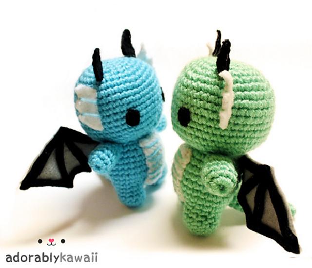 Philip the Dragon Crochet Free Pattern | Crochet amigurumi free ... | 550x640