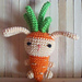 Carrot Bunny pattern