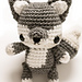 Baby Wolf Amigurumi pattern
