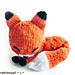 Knit Sleepy Fox Amigurumi pattern