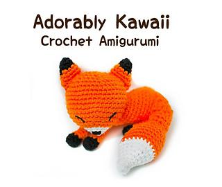 Mini Amigurumi Pug Free Crochet Pattern | móhu | 270x320