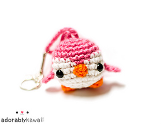 15 Free Must-Make Amigurumi Keychains for Bags, Purses, and Keys ... | 247x320