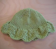 leaf lace hat