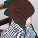 Spiky Dino Earflap Hat pattern